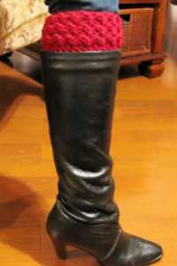 Basketweave Crochet Boot Cuffs by ELK Studio