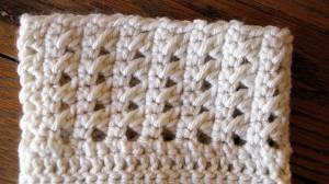 Cross Stitch Boot Cuff