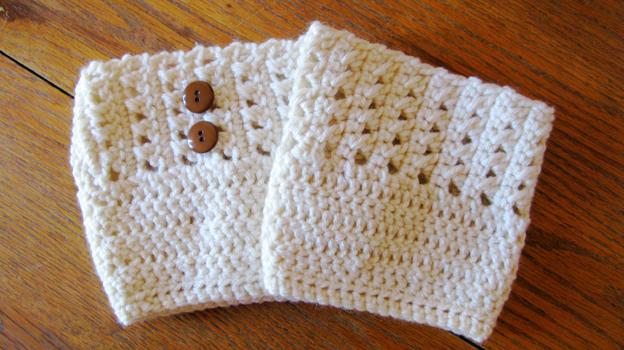 Cross Stitch Boot Cuff Pattern - ELK Studio - Handcrafted Crochet ...