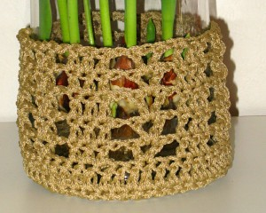 Jute Flower Pot Holder
