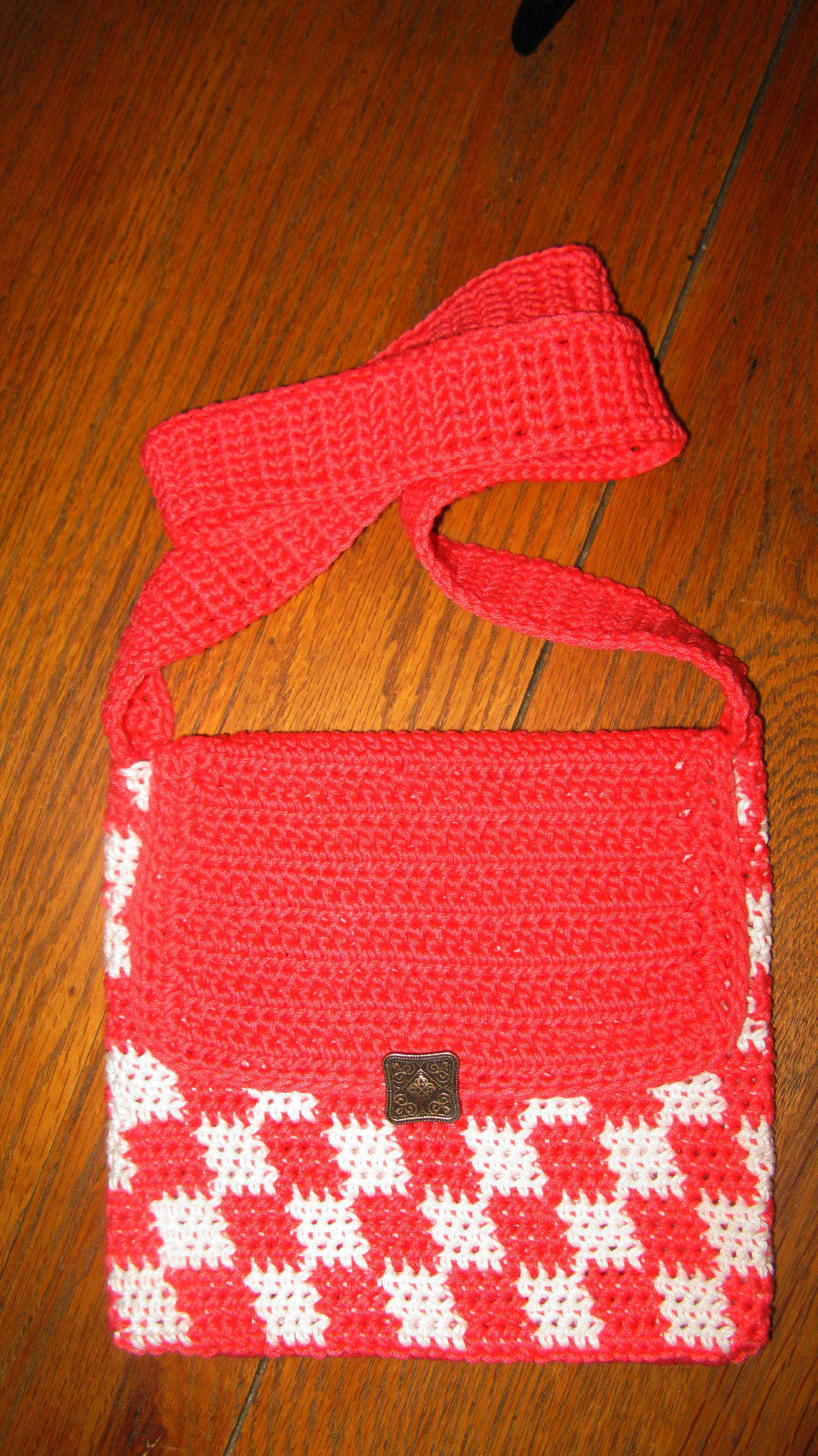 Summer Checkers – Free Crochet Tote Pattern   ELK Studio ...