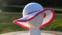 Summer Hat Pink