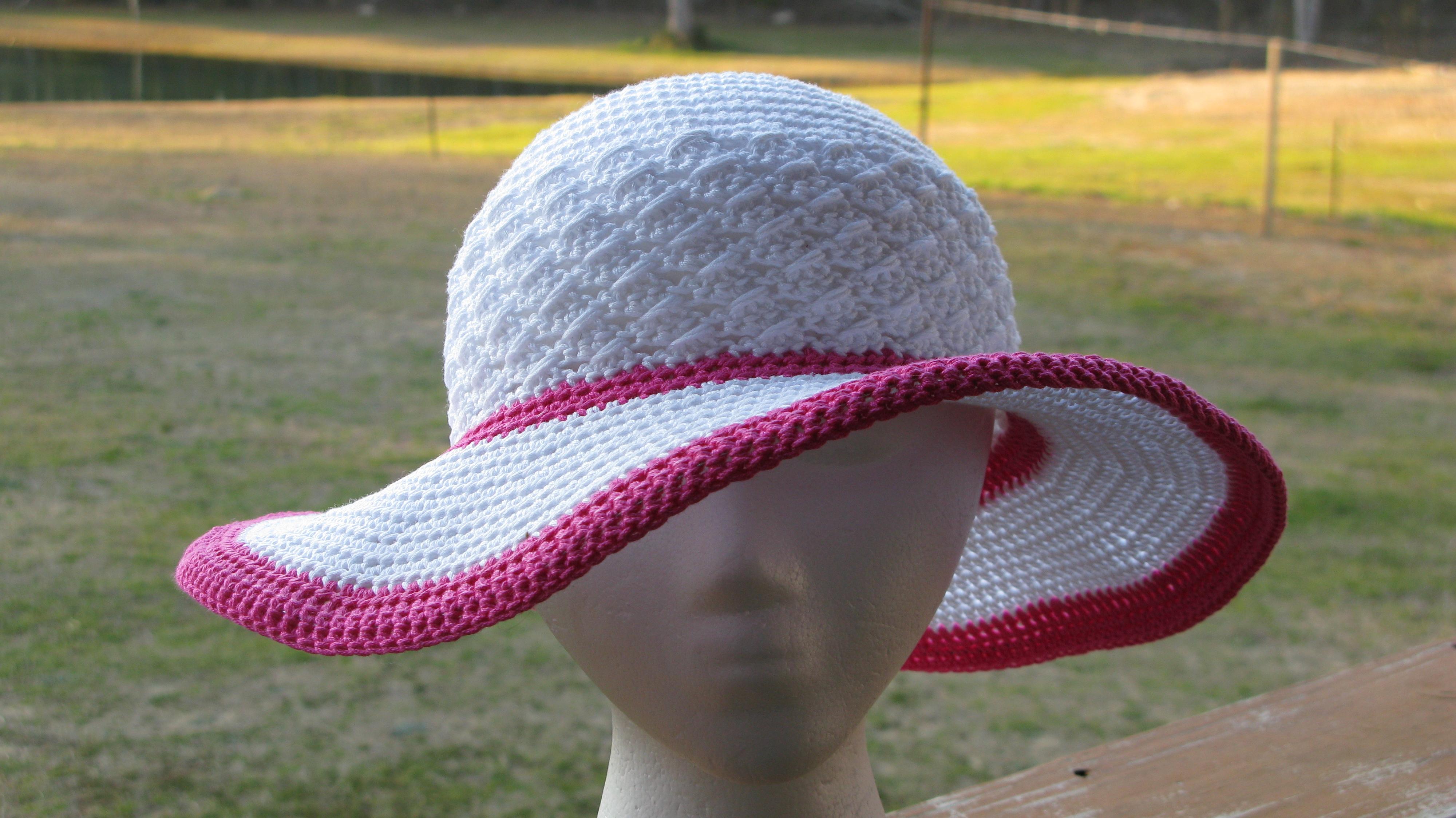 Lines By Elk Summer Hat Elk Studio Handcrafted Crochet Designs