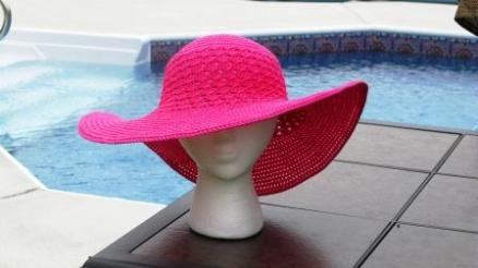 Southern and Sassy summer crochet hat pattern by ELK Studio