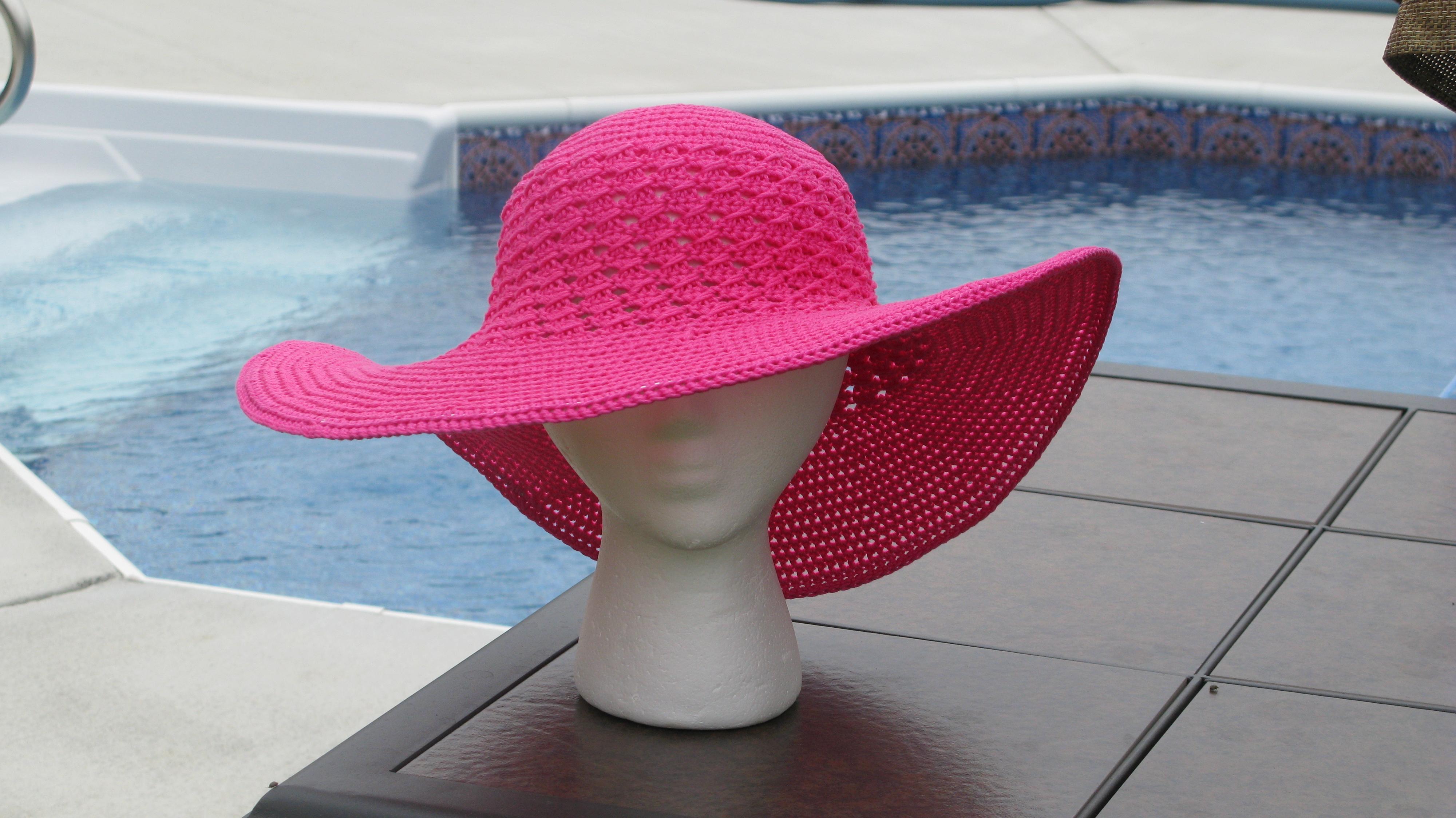 Finishing Another Summer Beach Hat - ELK Studio - Handcrafted ...