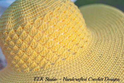 Southern and Sassy summer hat by ELK Studio