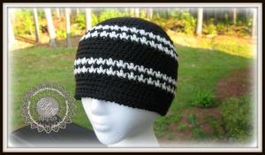 Hounds Tooth Hat