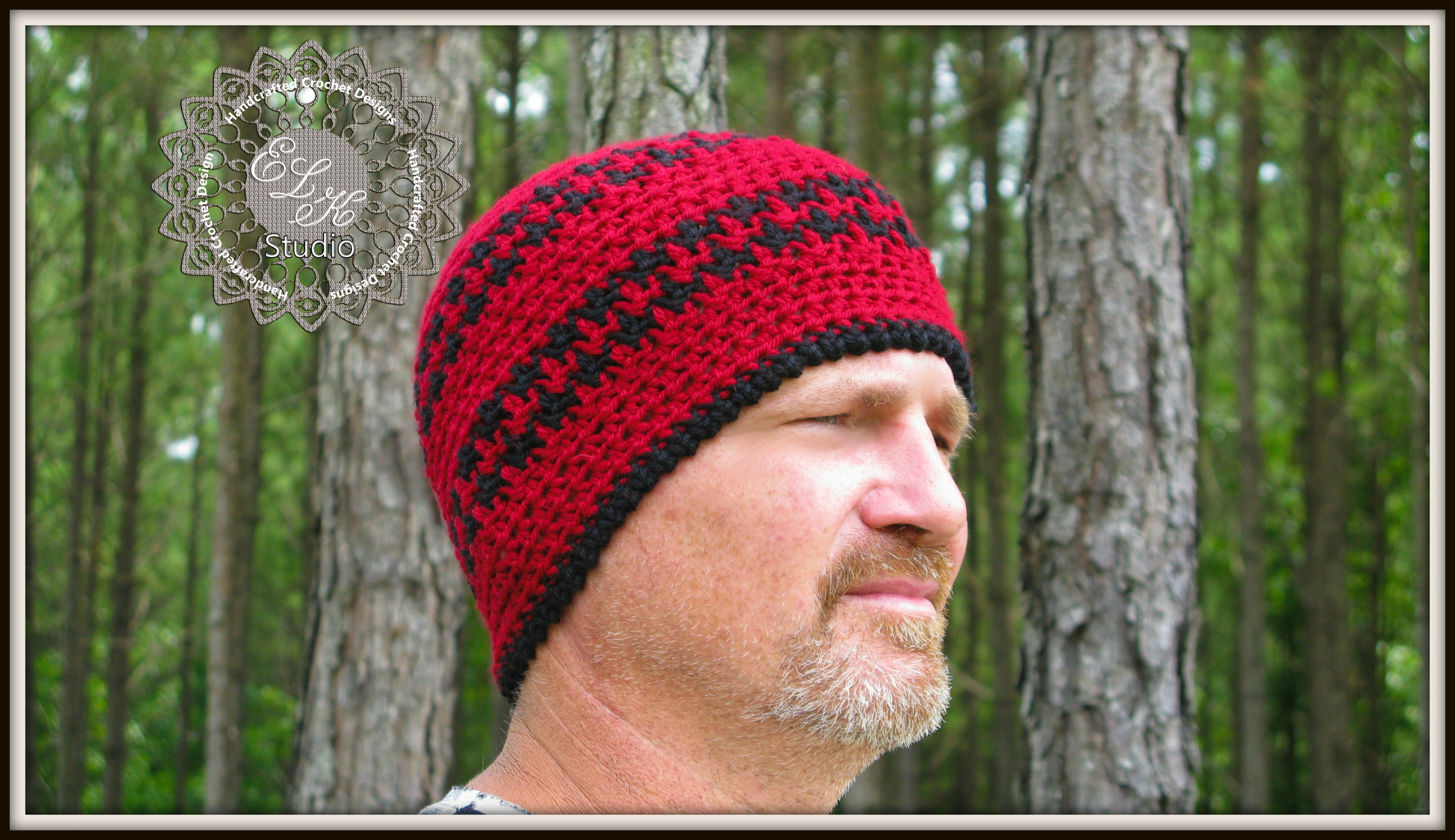 Attractive Crochet Men Hat Pattern Adornment - Easy Scarf Knitting ...