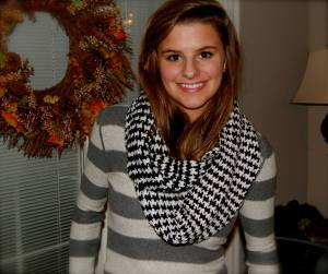 Val's Houndstooth scarf