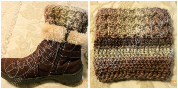 Ripple Stitch Boot Cuffs