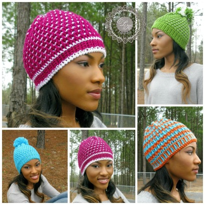 Morning Frost - A Free Crochet Hat From ELK Studio